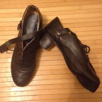 "Lightly used Fay's ""original"" hard shoes - size 5"